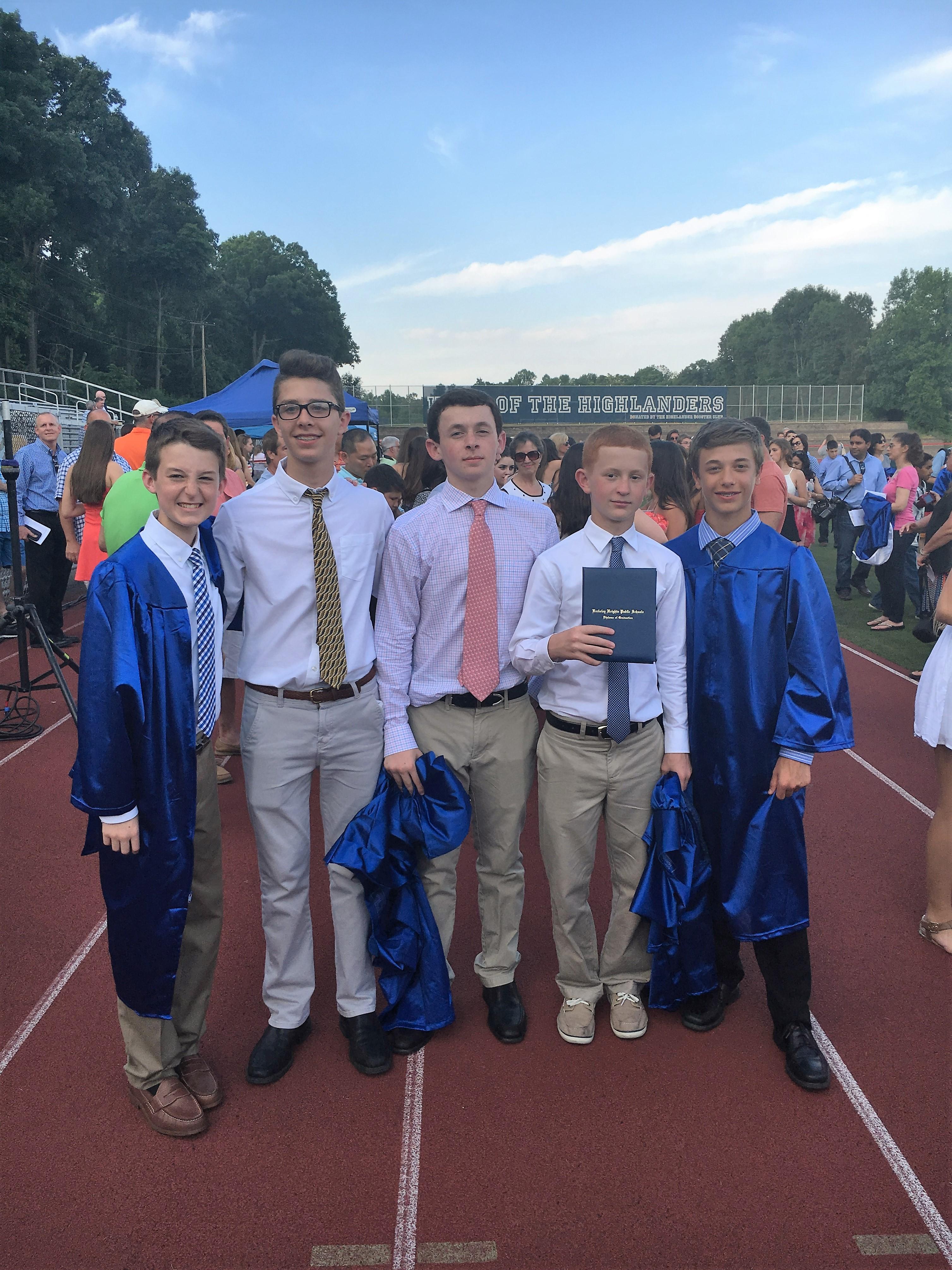 Columbia Middle School Graduates Eighth Grade Class of ...
