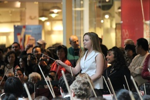 Student Conducting Playathon