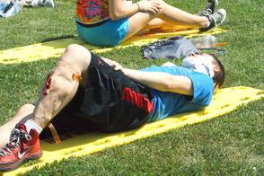Students Learn EMS Procedures in Mass Casualty Drill, photo 12
