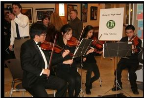 The Livingston High School Honors String Ensemble