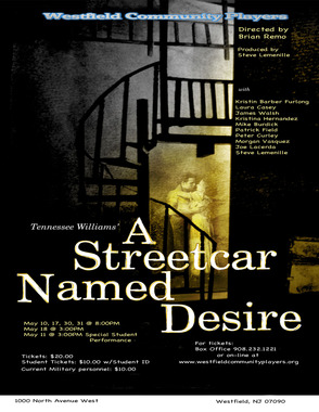 """A Streetcar Named Desire"" Opens at Westfield Community Players, photo 1"