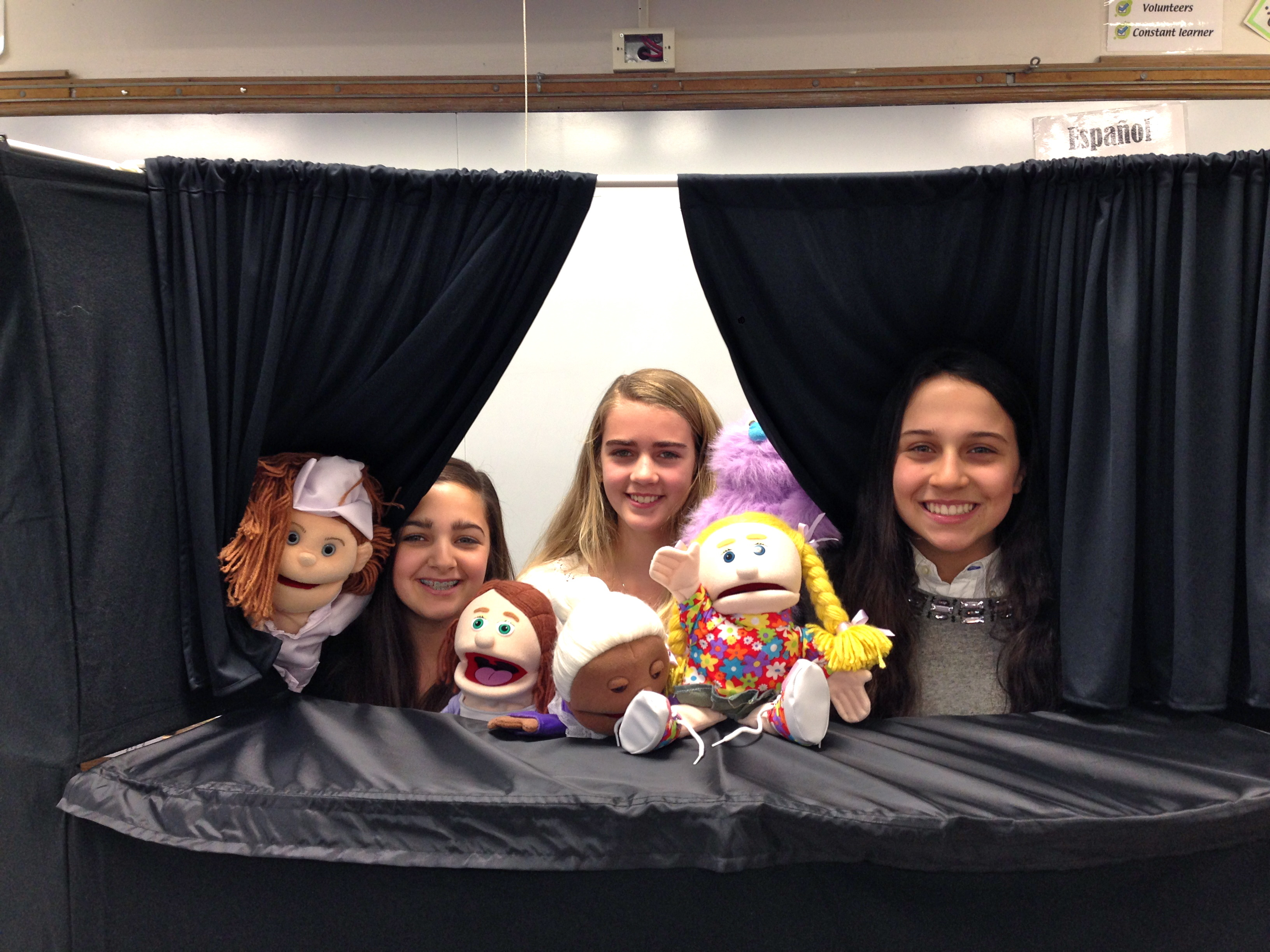 No Strings Attached: SEF Grant Brings Puppet Program to LCJSMS World Language Department