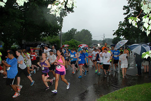 5K Runners Brave the Weather