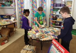 Tulsa Trail Book Drive Benefits Project Self-Sufficiency