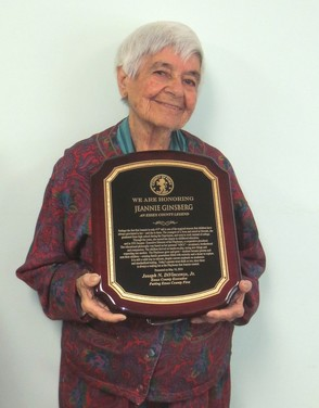 Jeannie Ginsberg is named Essex County legend