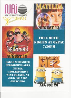 Free Movie Nights at OSPAC
