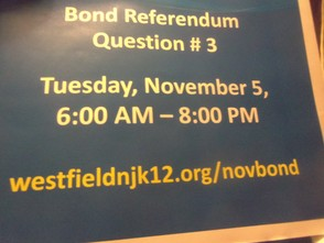 Question # 3 on the ballot