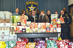 Sheriff's Office Food Drive