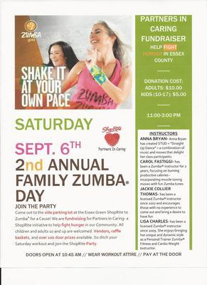 Shoprite Zumba Fundraiser