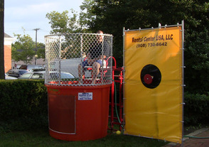 Dunk-a-Cop Tank at Scotch Plains National Night Out