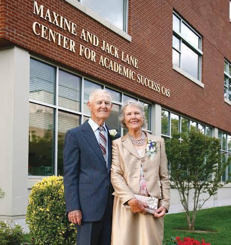 longtime kean university benefactor maxine lane leaves 1