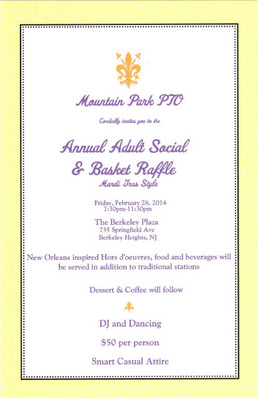 Mountain Park Holds Mardi Gras PTO Adult Social and Basket Raffle, Feb. 28, photo 1