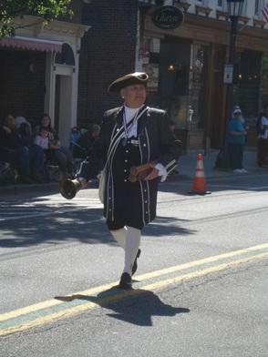 Town Crier Bill Joseph