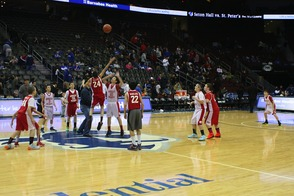 7th Grade Travel Basketball Team Plays at Seton Hall University Game, photo 6