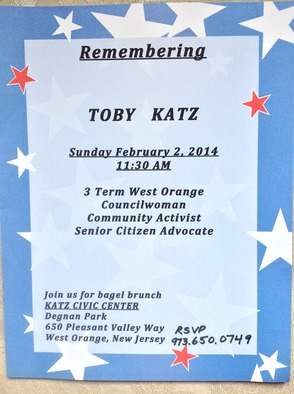 Toby Katz Remembrance to be Held February 2, photo 2