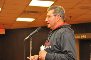 Rick Bitondo of Maxwell & Molly's Closet, asks about involving the school district.
