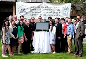 South Orange Village thanks Seton Hall University