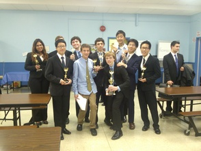 Award-Winning Millburn Forensic Team Members