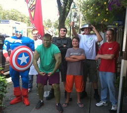 The Nick's Pizza Avengers to the Rescue!