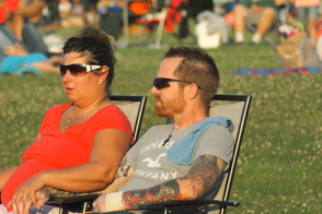 Hundreds Celebrate Independence With Fireworks, Music, photo 11
