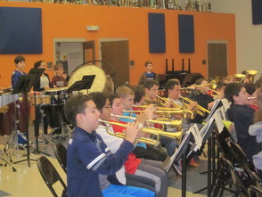 Randolph Middle School Sixth-Grade Band to be on NJ Network 'Classroom Close-up' in March, photo 6