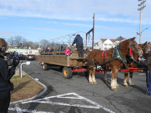 Hundreds Turn Out For Santa Visit and Horse-Drawn Wagon Rides, photo 19