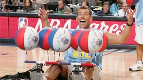 Hoops legend BlackJack Ryan will play with the Harlem Wizards on Oct. 3