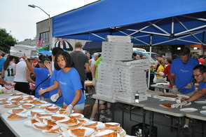 Storm Doesn't Stop Downtown Westfield's Pizza Run, photo 21