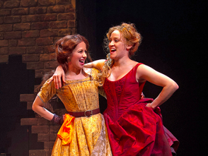 From left to right: Kristen Smith Davis (Bet) and Besty Morgan (Nancy).