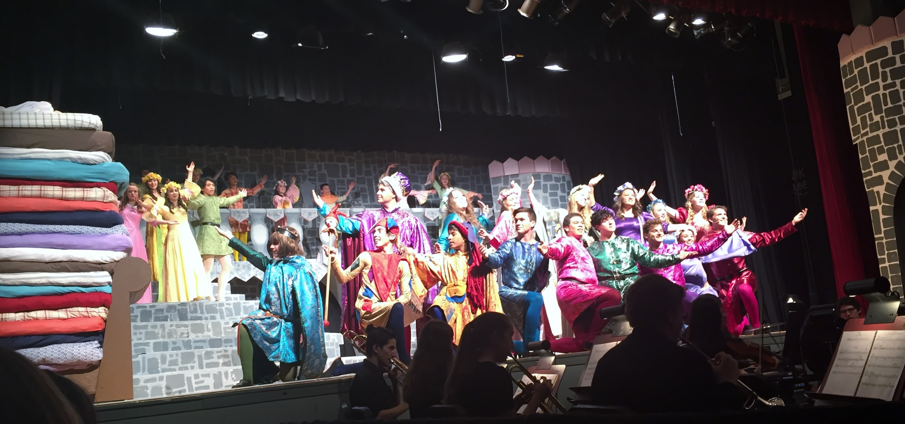 Newton's Production of 'Once Upon a Mattress' a Hit