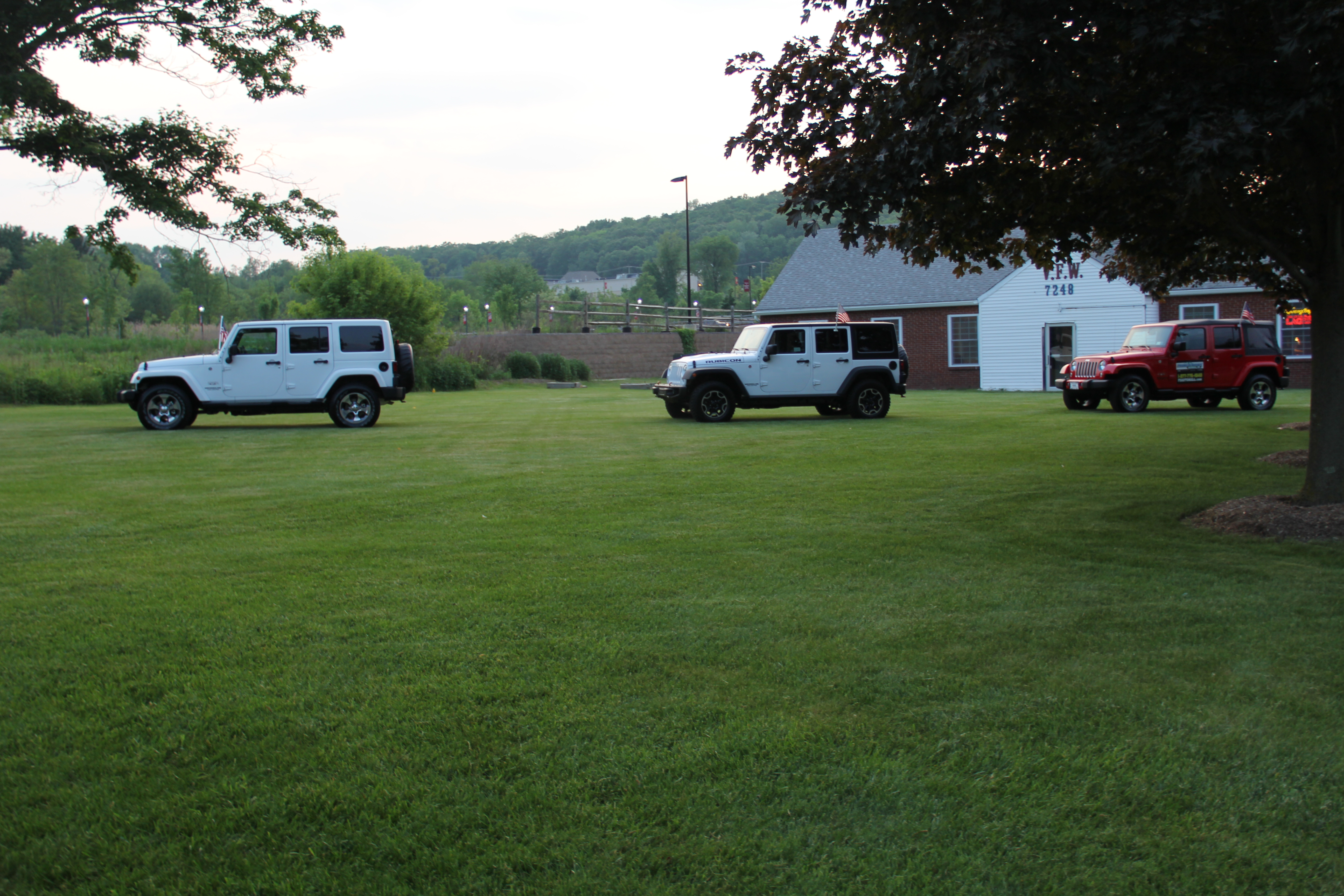 Sparta vfw hosts grand marshal reception news tapinto three jeeps donated by sussex county auto mall for the parade credits jennifer dericks sciox Choice Image