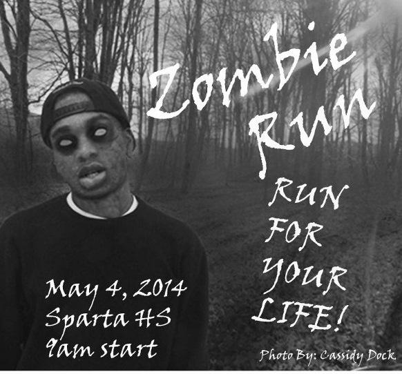 Sparta High School Sophomore Class fundraiser of a Zombie Fun run is ...