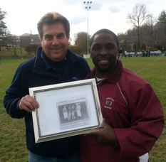 Ron Quinn, Vice President of Sparta Spartans Youth Football and Cheer, along with the Head Coach of Newton's Clinic Team