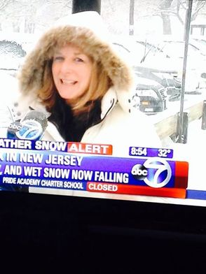 TAP Visits with Michelle Charlesworth While Channel 7 Eyewitness News Reports from Berkeley Heights, photo 6