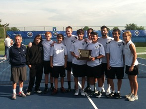New Providence Boys Tennis Wins Third Straight Group 1 Title, photo 1