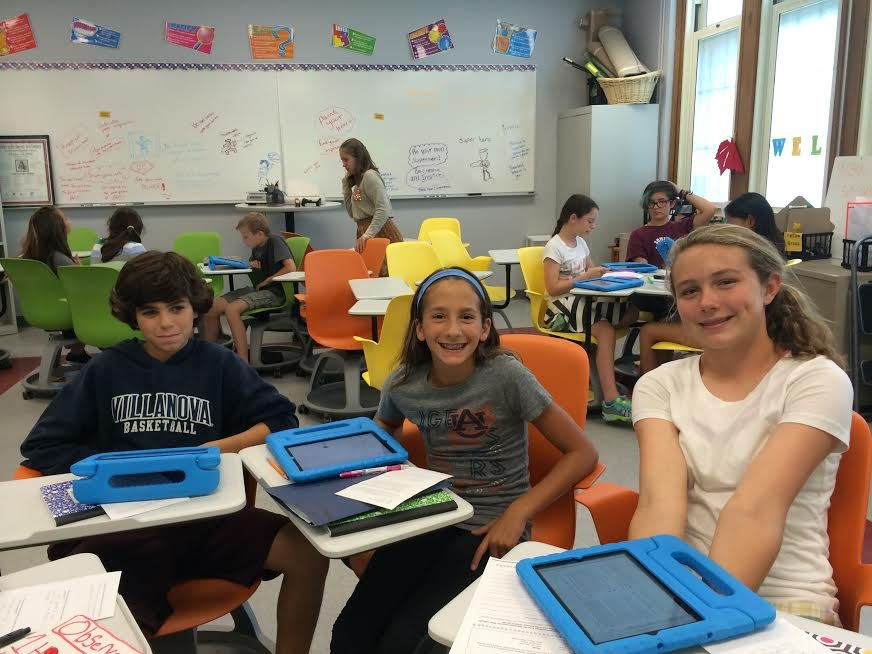 SEF-Funded iPad Program at LCJSMS Exceeds Expectations, Expanded for 2014-15 School Year