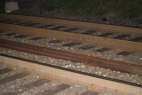 Walnut Street Train Tracks