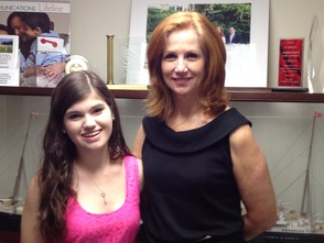 New Providence Resident Interns with State Assemblywoman Munoz, photo 1