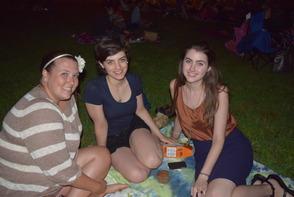 Ashley Leeshock, Joan Juengling and Mary Juengling