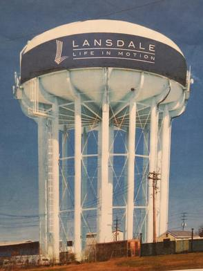 New Color Scheme Chosen for $2M NPWA Lansdale Water Tower Paint Job, photo 1