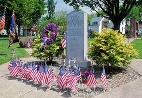 Clark World War II Monument