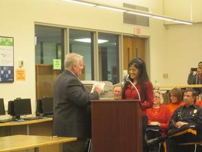 Dr. Diana Thomas Joins The Randolph Board of Education, photo 2