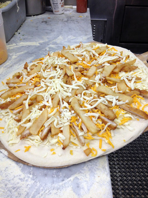 Chicken Finger and Fries pie