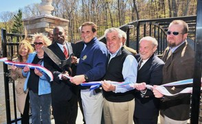 Walkway Ribbon Cutting
