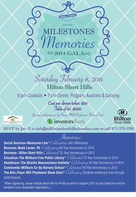 Millburn-Short Hills Chamber of Commerce to Host Gala on Feb. 8, photo 1