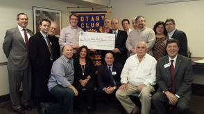 Livingstion Rotary Donates to DRRO