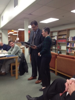Vogel Honored at New Providence Board of Education Meeting , photo 2