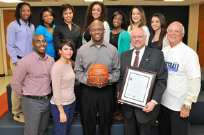 FDU Florham Championship Women's Basketball Team Honored, photo 1