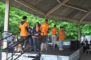 Coordinators receive certificates of appreciation for their volunteerism.
