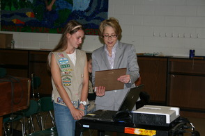 Piper Rawding Recognized for Gold Award by Montville BOE